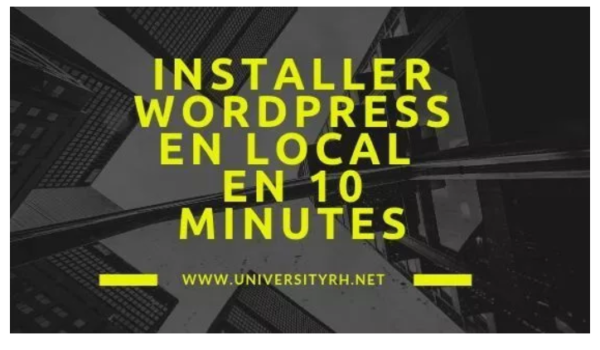 installer wordpress en local